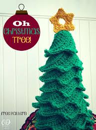 Free Crochet Christmas Tree Patterns Stunning Oh Christmas Tree Free Pattern Oombawka Design Crochet