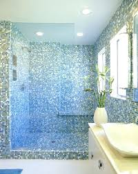 white and green tiles bathroom blend south beach blue green white glass mosaic tile white and