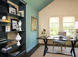 extravagant home office room. Stunning Grey Wall Paint In Home Office Extravagant Room O