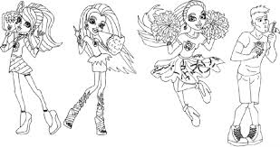 Small Picture KidscolouringpagesorgPrint Download monster high coloring