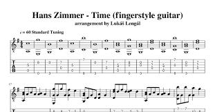 Hans Zimmer - Time (fingerstyle guitar).pdf