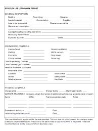 pub chapter lead hazards and controls rev d  appendix b berkeley lab lead work permit