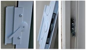image of sliding patio door hardware