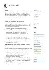 Secretary Resume Sample Writing Guide Resumeviking Com