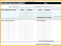 Bank Reconciliation Template Bank Reconciliation Template Excel Companiesuk Co