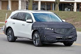 2018 acura rdx spy photos. Exellent Acura 2017 Acura MDX  In 2018 Acura Rdx Spy Photos