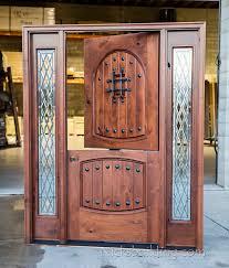 rustic exterior dutch door with sidelites exterior knotty alder dutch door with sidelights