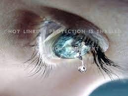 sad eye closeup girl 3d abstract and cg