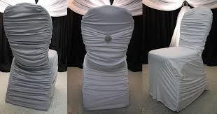 chair covers. ruched chair covers /