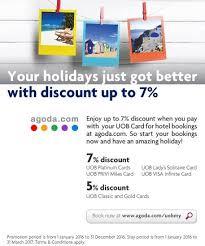 uob credit card promotion enjoy up to