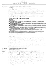 Aerospace Program Manager Job Description Supply Chain Project