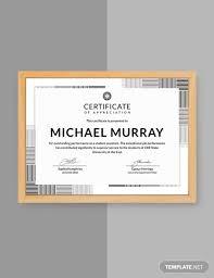 Formal Certificates Free Formal Certificate Of Appreciation Template Download 323