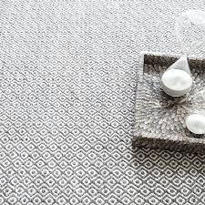 canton gray indoor outdoor area rug dash and facet chenille grey