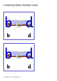 These free phonics worksheets explore the different ways that letters may sound. Confusing Letters Desktop Prompt Cards Sb6070 Sparklebox In 2021 Teaching Phonics Phonics Worksheets Letters