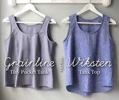 Grainline Patterns Interesting Mmmcrafts In Which I Sew A Large Number Of Woven Tanks Or