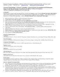 Asp Net Developer Resume Sample Senior Net Developer Resume Sample Resume Template 13