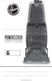 hoover fh50135 manual