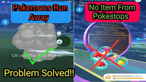Pokemon Go Cooldown Chart How To Solve Pokemons Run Away And No Items Collecting From Pokestops In Pokemon Go