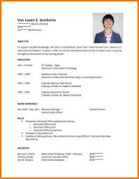 Application Letter For Ojt Mple Resume Sample Accounting Students