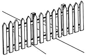 fence drawing. 2528x1655 FilePicket Fence (PSF).png Drawing C
