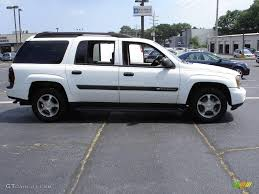 2004 Summit White Chevrolet TrailBlazer EXT LS 4x4 #16316411 Photo ...