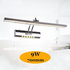 above mirror bathroom lighting. 2018 700mm Adjustable Bathroom Light Above Mirror Cabinet 85 265v 9w  Cool/Warm White Vanity Wall Lamp Fixture With Switch Arandela From Cactus_shaw, Above Mirror Bathroom Lighting