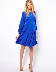 Blue Maternity Dress For Baby Shower | Maternity Dresses ...