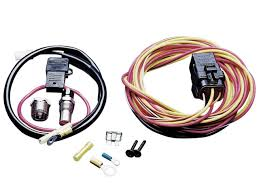 fan relay thermostat and wiring kits spal fan relay thermostat and wiring kits