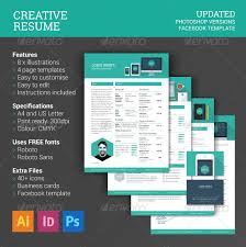 creative resume template psd eps format download psd resume templates
