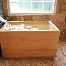 japanese soaking tub wood stupefy diy best tubs ideas on small interiors 34