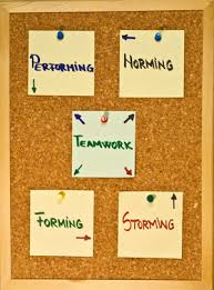Form Storm Norm Perform Chart The Five Stages Of Team Development A Case Study