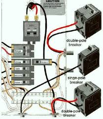 wiring diagram for different home electrical circuits breaker box diagram