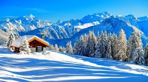 winter mountain backgrounds. Delighful Backgrounds Houses Beautiful Mountain Winter Wallpaper HD Intended Winter Mountain Backgrounds I