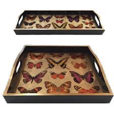 Letter Tray Decorative Serving Trays Ottoman Trays Breakfast Trays Tv Trays Decorative Tray 84