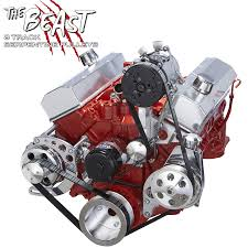 Chevy Small Block Serpentine Conversion Kit for AC & Power ...