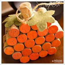 Wine Cork Pumpkin...these are the BEST Fall Craft Ideas & DIY Home