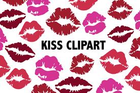 kissing lips clipart grafik von mine