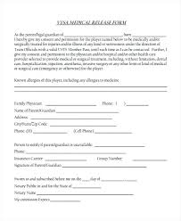 Request For Medical Records Form Template Photography Release Form Template Standard Relevant Com