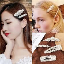 <b>2019</b> Popular <b>Fashion Pearl</b> Hairgrip <b>Women</b> Girls Hair Clips Bobby ...