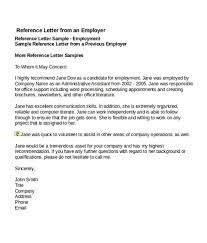 4 Job Reference Letter Templates Free Word Pdf Sampleformats