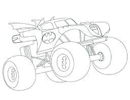 Free Monster Truck Coloring Pages Printable Free Monster Truck