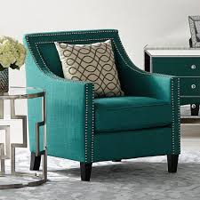 marvelous dark teal accent chair fx wonderful home decor on teal accent chairs
