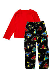 ame power rangers dino charge fleece pajama set little boys big boys nordstrom rack