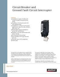 murray mpgf amp pole volt ground fault circuit murray mp130gf 30 amp 1 pole 120 volt ground fault circuit interrupter com