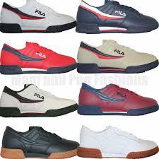 fila original fitness. mens fila original fitness classic retro casual athletic shoes white navy red | ebay e