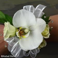 phalaenopsis orchid wrist corsage san rafael high prom flowers