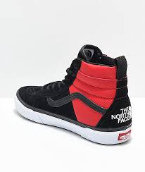 vans mte shoes. vans x the north face sk8-hi mte all black \u0026 red shoes mte e