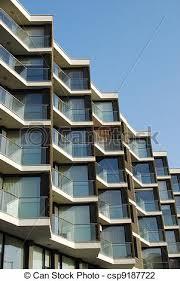 modern residential building. Brilliant Building Modern Residential Building  Csp9187722 To Residential Building