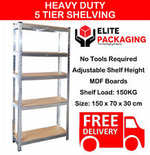 metal storage shelves. metal racking bays 5 tier freestand garage shelving heavy duty storage rack unit shelves