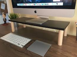 picture of 9 diy computer monitor riser stand